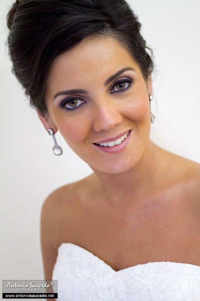 Tips para el maquillaje de novia. Foto de Antonio Saucedo