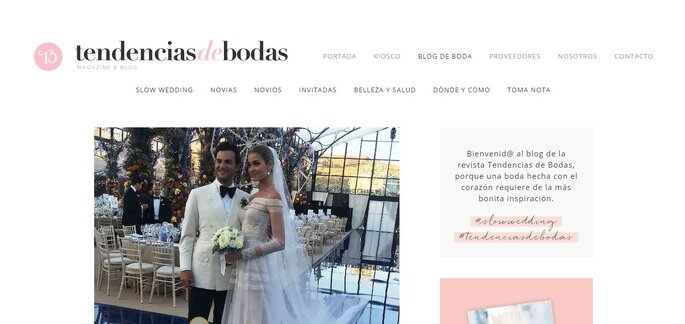 18Tendencias de Boda