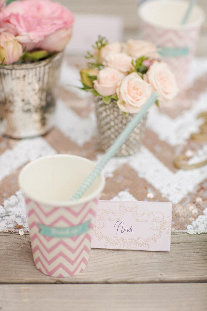 decoración en tonos pastel - Marianne Taylor Photography