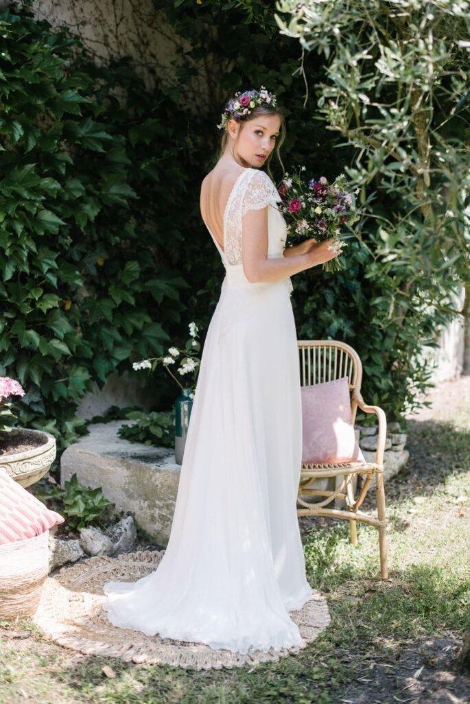 f8bcb16688d Elsa Gary présente sa nouvelle collection 2019 de robes de mariée