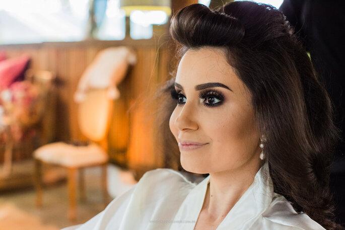Cabelo e maquiagem da noiva: Ana Veiga - Foto: Paulo Cezar Jr. Fotografia