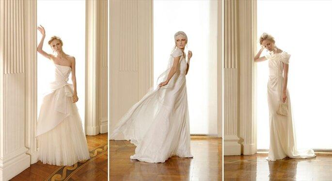 Linee romantiche per una sposa moderna - Alberta Ferretti