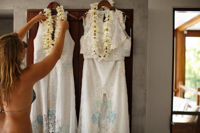 Só o vestido de cada era segredo!