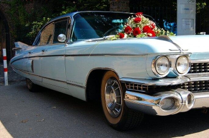 Auch das Hochzeitsauto muss im Voraus reserviert werden – Foto: Thomas Max Müller, pixelio.de