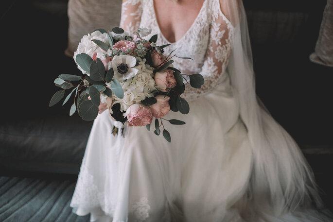 Sophie Blanc Event Design réalise également le bouquet de la mariée !
