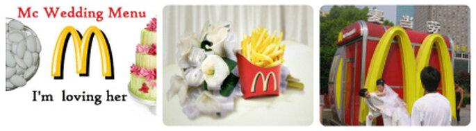"""""""McWedding"""", una oferta de servicio para los futuros esposo. Foto: www.blog.chinatravel.net"""