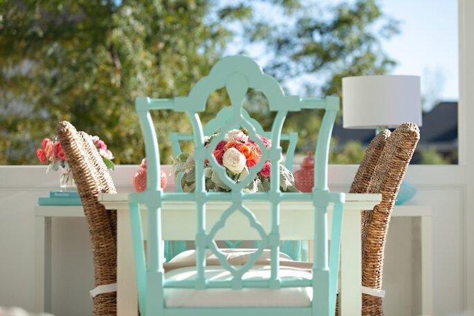 decoración en tonos pastel - Ryann Colleen Photography
