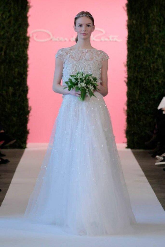 Oscar de la Renta - Primavera 2015: elegancia para novias clásicas ...