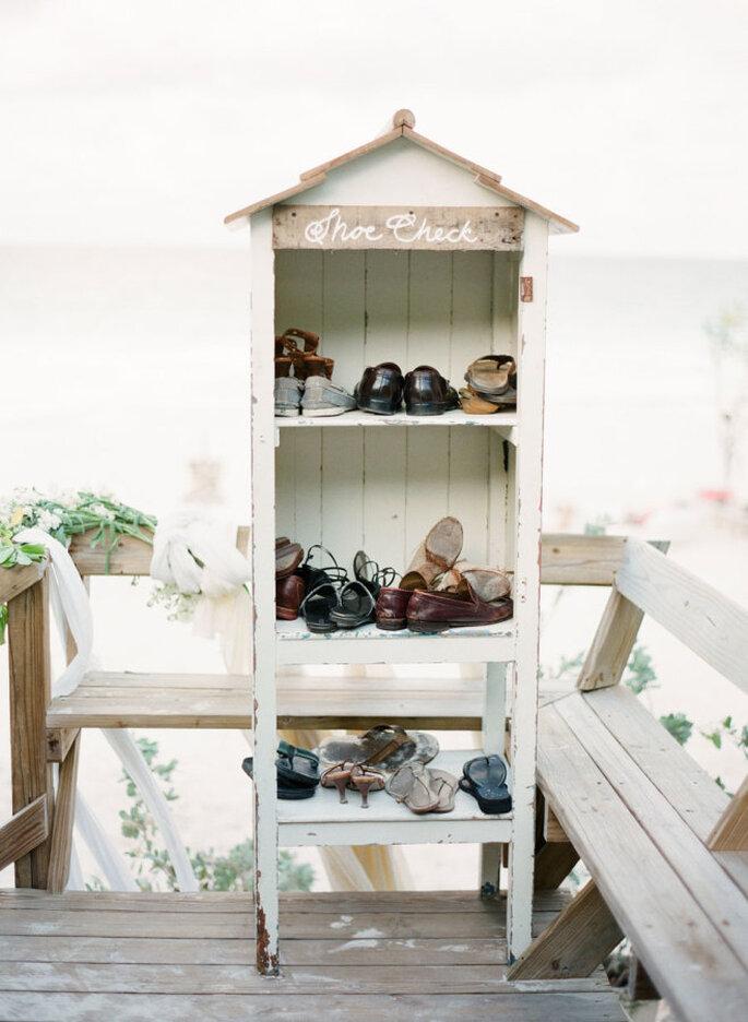 montaje para una boda en la playa - KT Merry