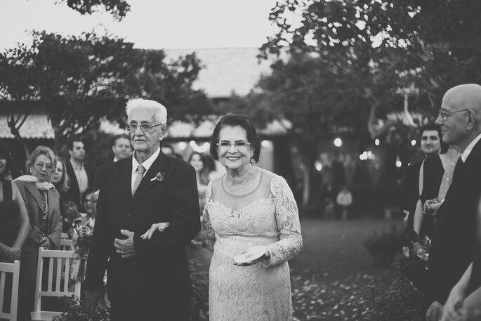 avós na cerimônia