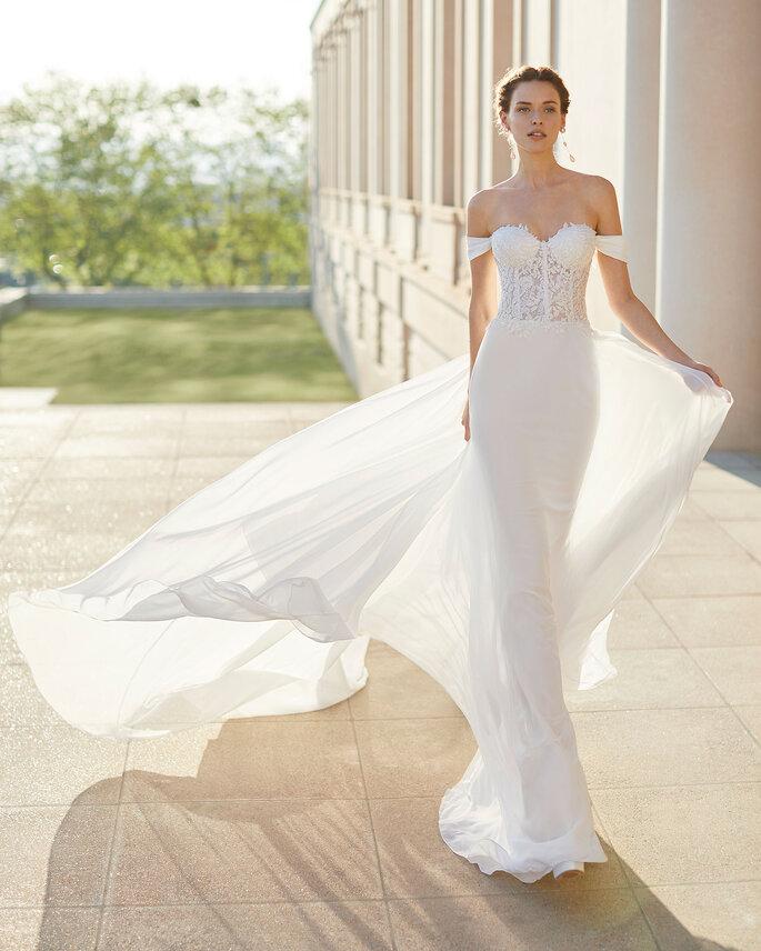 vestido de novia sirena Rosa Clara