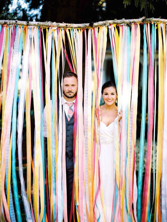 15 ideas súper ingeniosas para una boda al aire libre - Ann Kathrin Koch