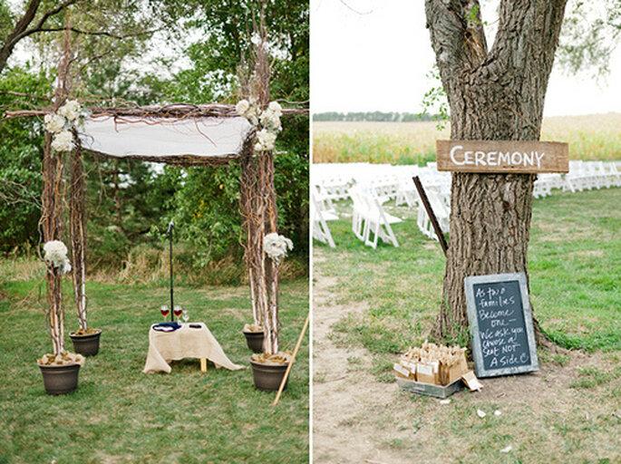 Mariage en Normandie : esprit champêtre chic assuré - Photo : Jeff Sampson