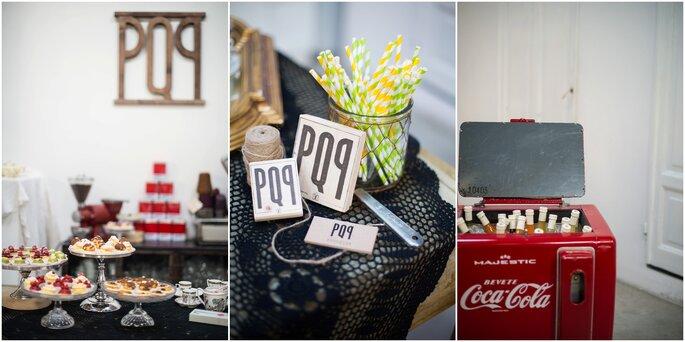 Ghiottonerie dolci e salate firmate PQP Banqueting - Foto: Infraordinario Wedding