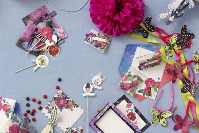 Gestalten Sie Ihre pinken Hochzeitseinladungen einfach selbst – Foto: bhldn