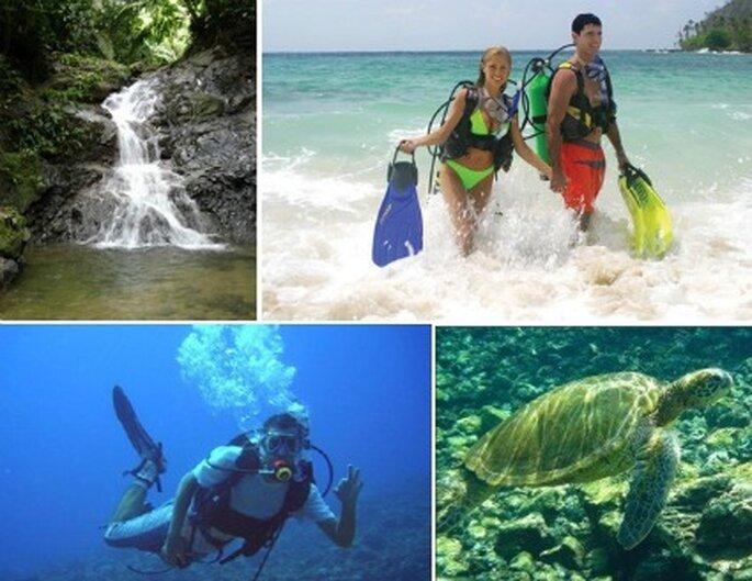 Mar de aguas cristalinas, un paraje único para compartir con su pareja y desconectarse de la realidad