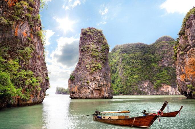 Preciosas islas del océano, Tailandia.