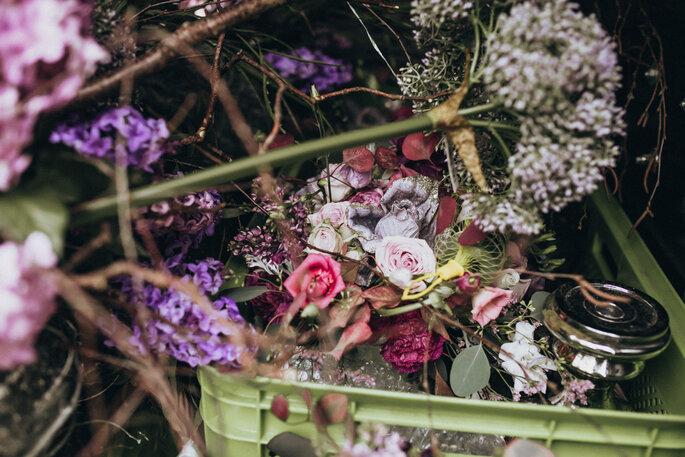 Hochzeitsinspirationen in Lila