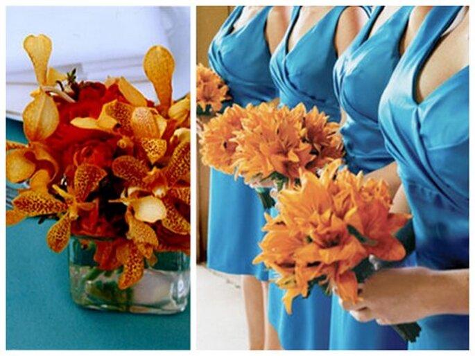 Foto links: via Merriment Design, Foto rechts: via The Knot