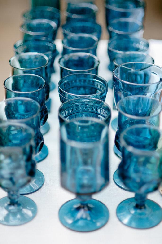 decoración azul marino - Megan Welker Photography