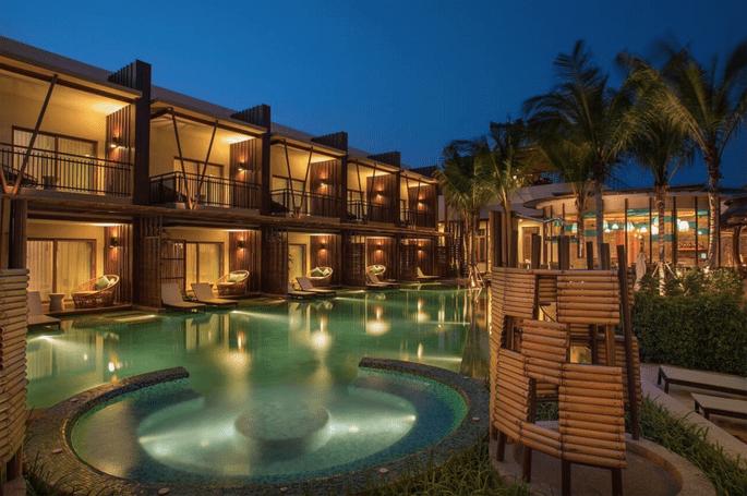 Los 14 mejores hoteles para tu luna de miel en tailandia Los mejores hoteles sobre el mar