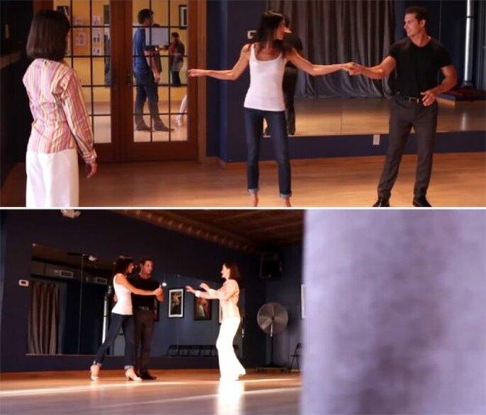 Aprende una coreografía para tu primer baile de bodas - Foto Joe Pollock Films YouTube