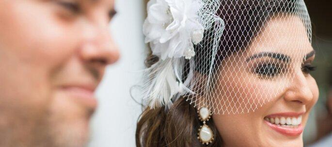 brinco delicado para noiva