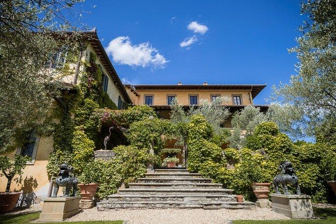 """Casa di Sting Villa """"Il Palagio"""""""