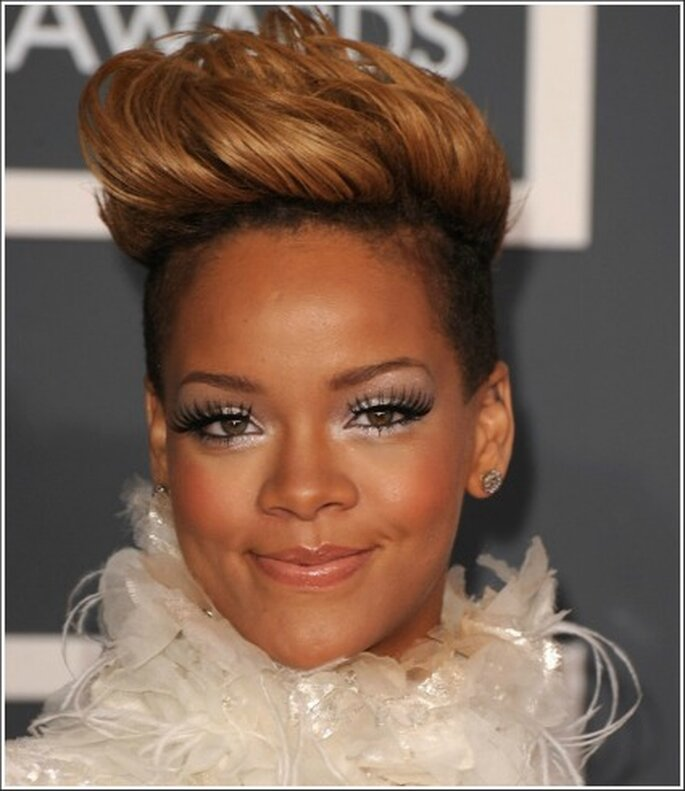 Rihanna con questo look ha fatto tendenza