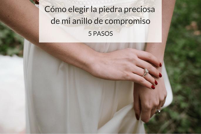 Cómo elegir la piedra preciosa de mi anillo de compromiso