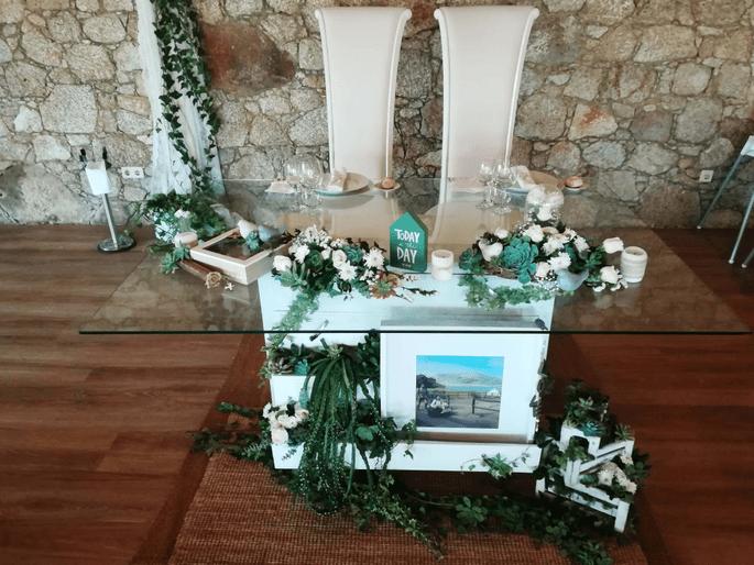 Quinta São Miguel de Arcos. Decoração de casamento