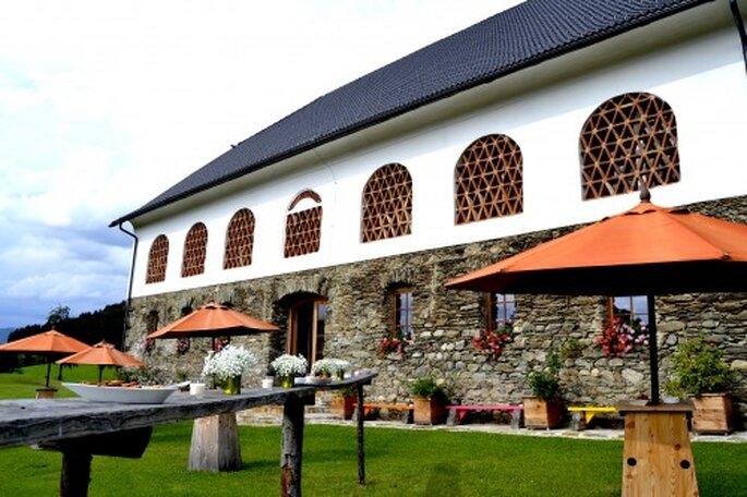 Romantische Hochzeitslocation in Kärnten – Foto: Lillis's Feststadl
