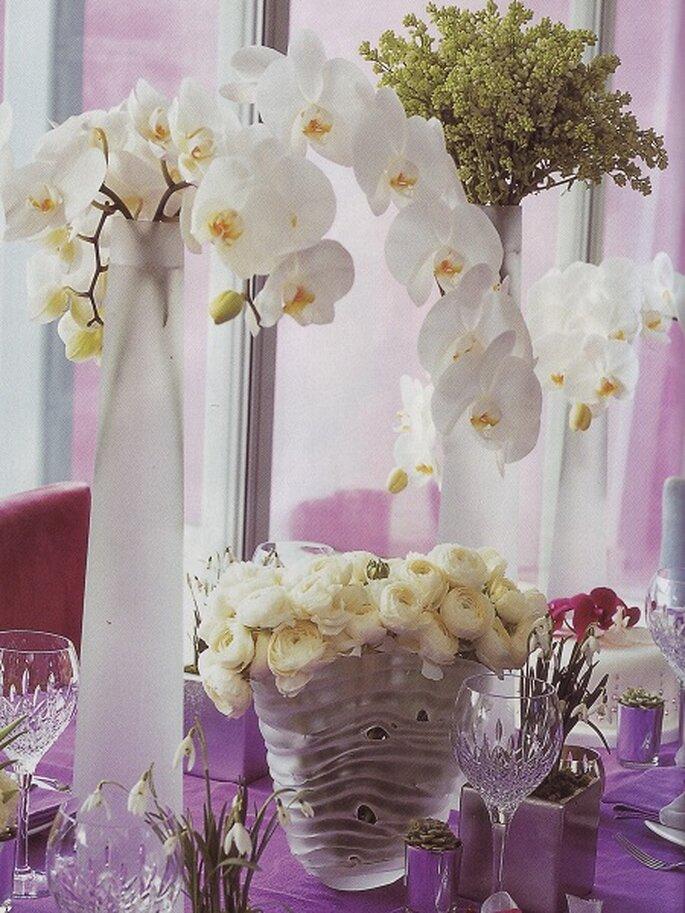 La decoración floral se adapta a las necesidades de los novios. Foto: Floresdelmundo.es