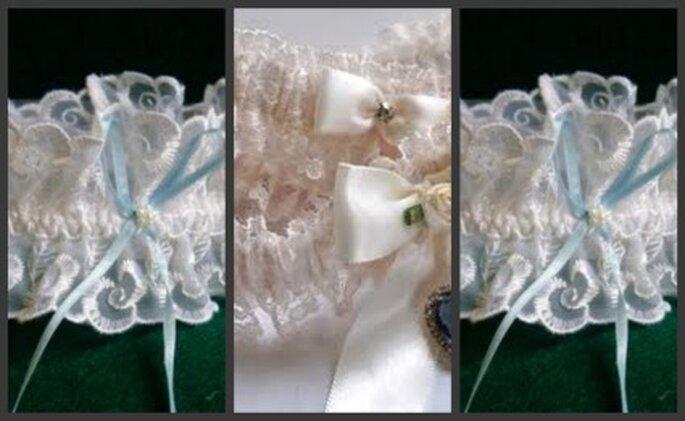 Diferentes tipos de encajes realzan la sensualidad de esta prenda