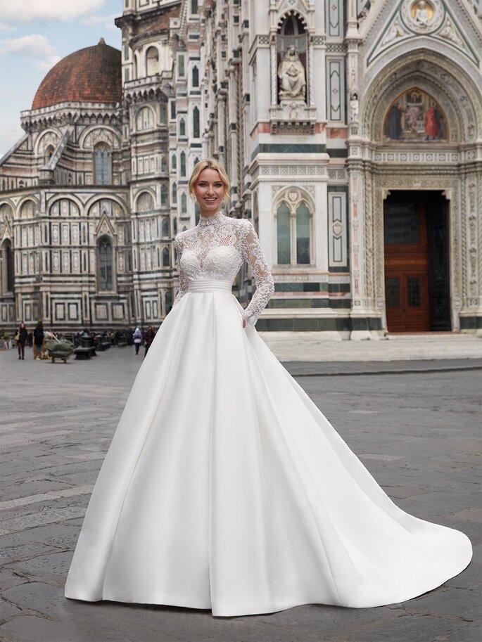 Vestidos de novia con bolsillos