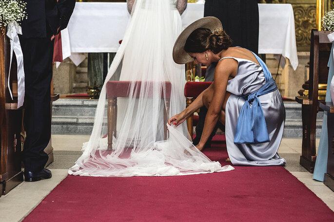Padrinhos e noivos - casamento