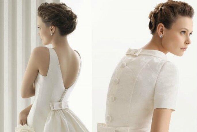 Recogido suave para tu peinado de novia- Foto: Óscar de la Renta