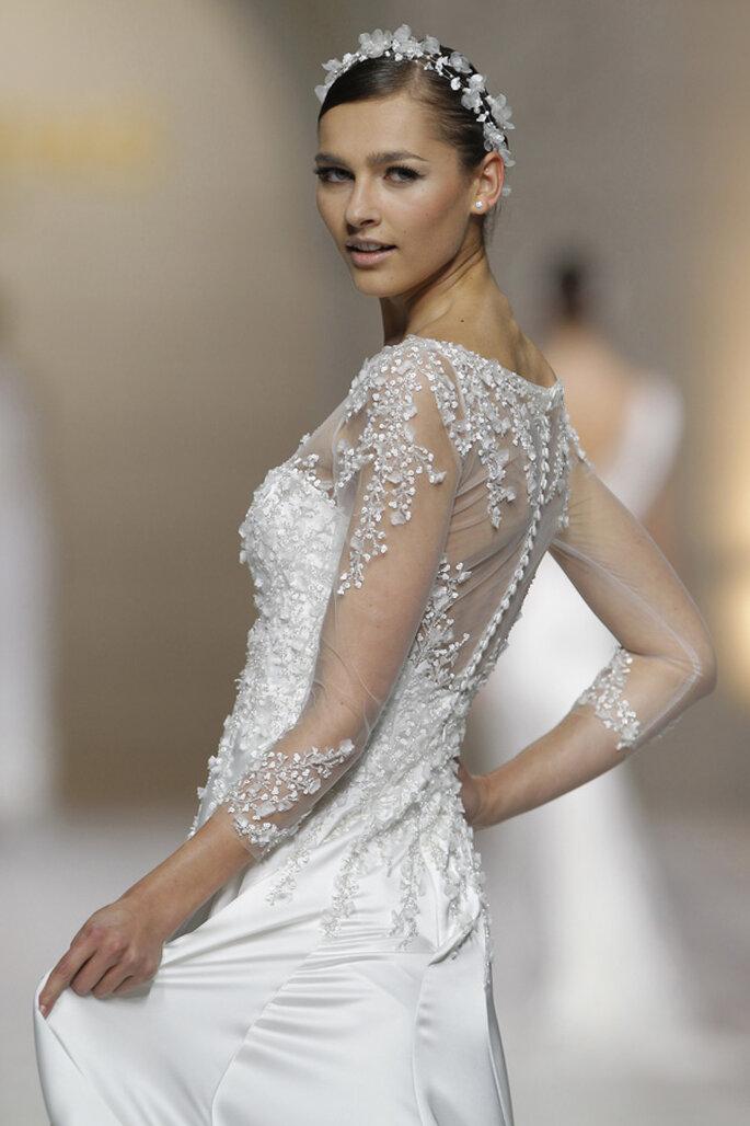 vestidos de novia 2015: el efecto tatuaje