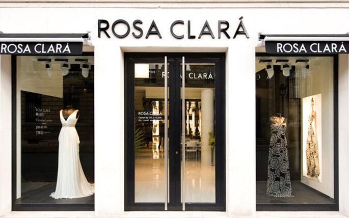 Fachada tienda de Rosa Clará