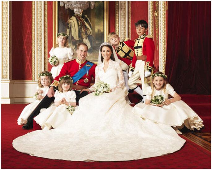 William e Kate. Foto:  Hugo Burnand Photographer, www.hugofoto.com/
