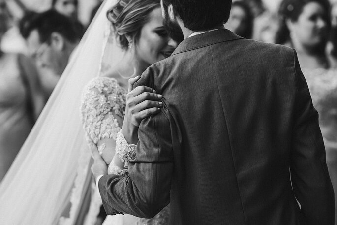 Cumprimento dos noivos