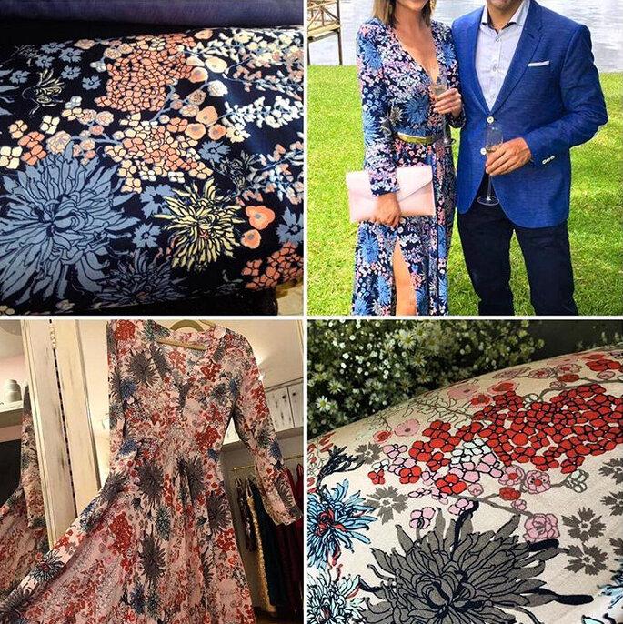 Foto: Galga Tailor Made (Vestido Floral dos colores)