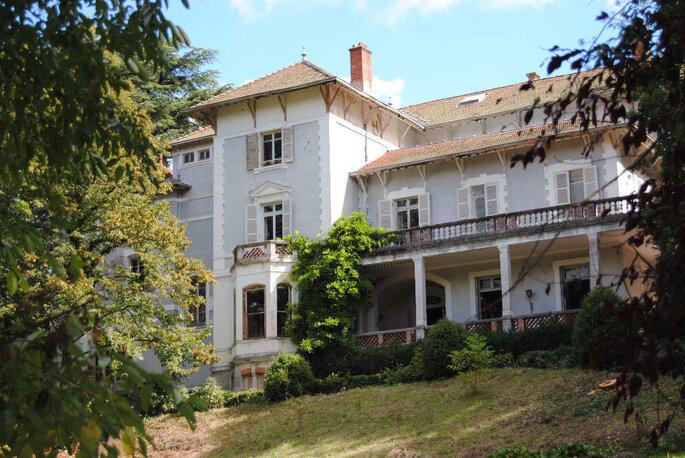 Le Domaine de Clairbois, lieu de réception, dans la Drôme