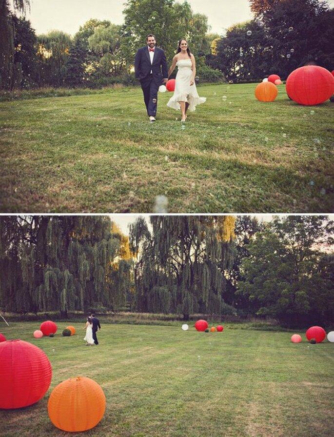 Deco oriental para una boda original - Fotos: Green Wedding Shoes