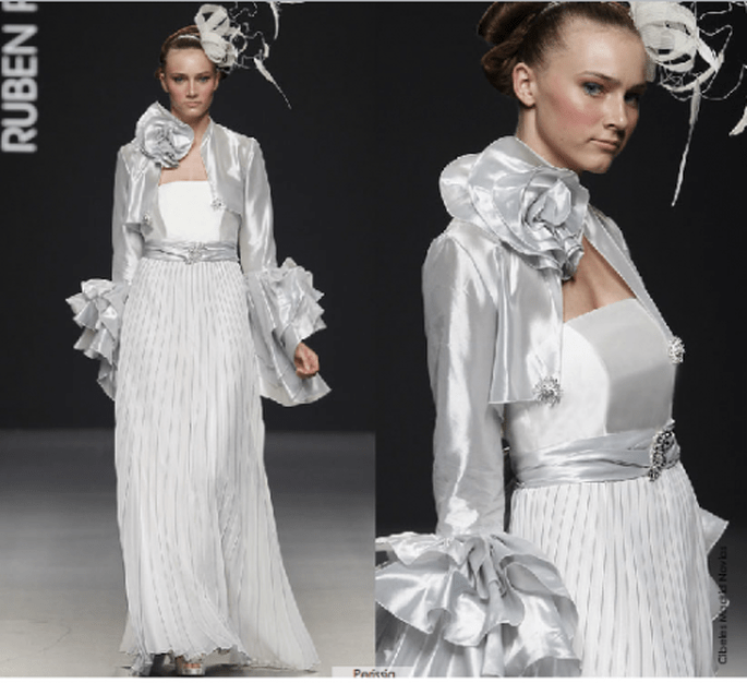 Vestido Perissia, colección 2012 Rubén Perlotti
