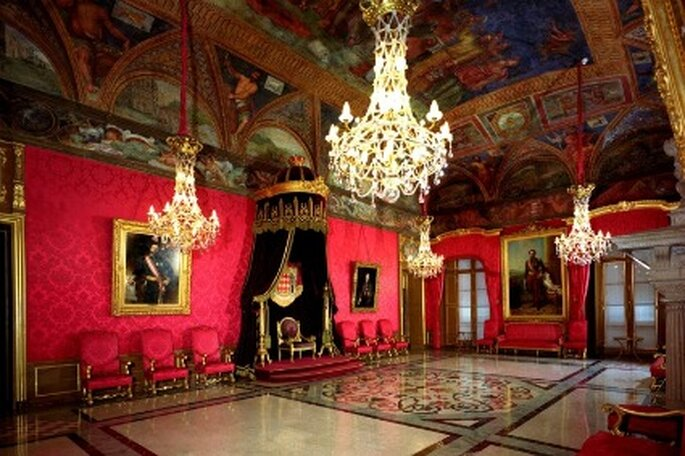 Salle du trône - Palais Princier de Monaco