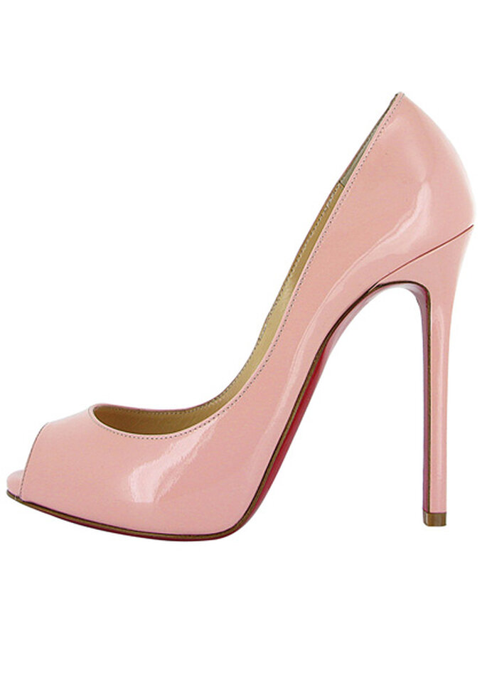 Peep-toes modelo Flo Rose Baby Pink. Foto: Christian Louboutin