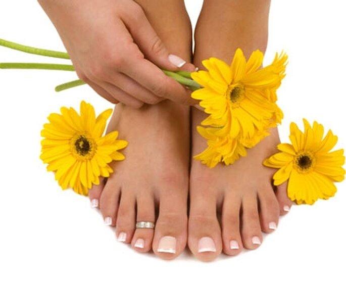 Tratamento para pés e mãos impecáveis.