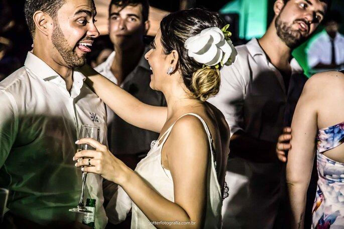 festa casamento noivos