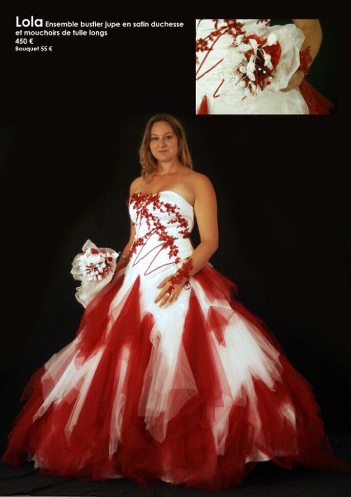 Au coeur d'un rêve : des robes de mariée personnalisables à un prix unique - Source : Au coeur d'un rêve, modèle Lola